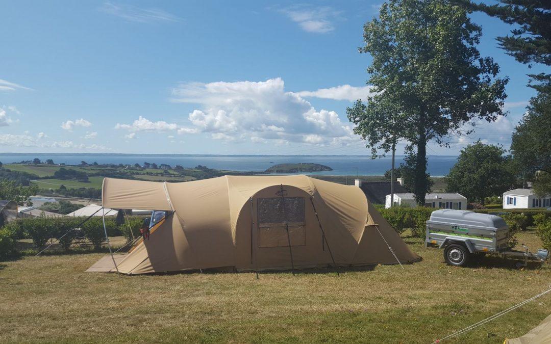 voici un été ensoleillé au camping de l'aber