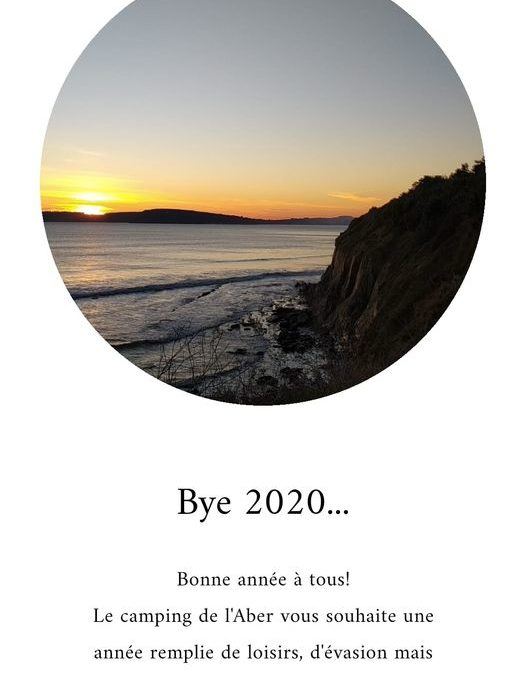 Très belle année 2021 Camping de l'Aber!!